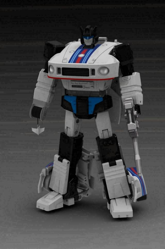 New Transformers G1 Masterpiece TR-01 Jazz TF Toy Second Edition Boxed