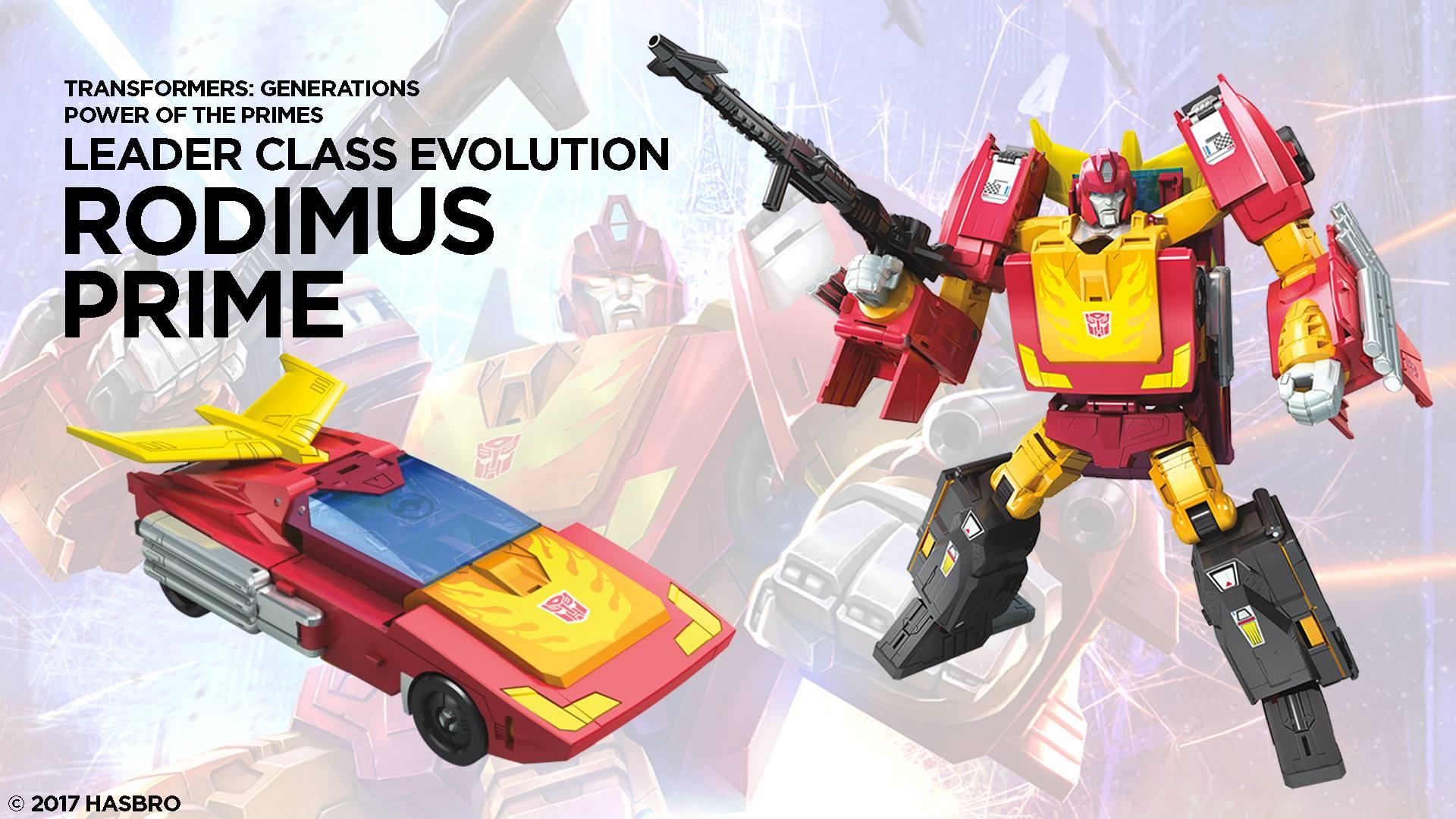 Transformers Titans Return TR Rodimus Prime 2017 TRU Exclusive New