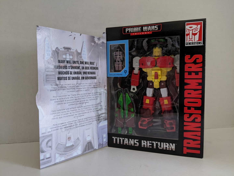 Transformers Hasbro Titans Return Astrotrain Alpha Trion Soundwave Sticker Rare