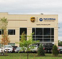UPS Northeast Logistics Center for Pratt & Whitney Distribution