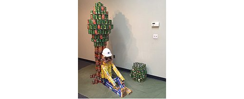 NH Food Bank 2016 Canstruction Competition