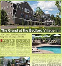 """NH Business Review features a TFM civil & structural hotel project in """"From the Ground Up"""""""