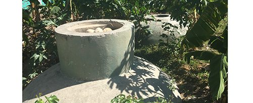 Haiti - Biodigester at Pwoje Espwa