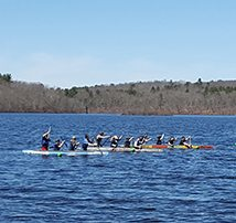 2 TFM Engineers Support UMass Lowell in NE Regional Concrete Canoe Competition