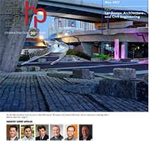 High-Profile May Issue Focus on Landscape Architecture & Civil Engineering