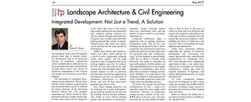 High-Profile May 2017 Landscape Architecture & Civil Engineering Focus