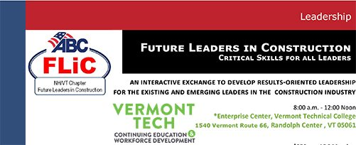 ABC NH/VT Future Leaders in Construction program