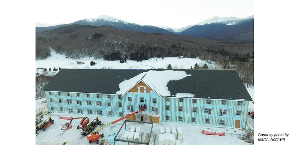 Glen House Hotel Under Construction January 2018