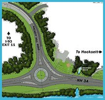 Proposed Roundabout at Hackett Hill Road/NH 3A/I-93 Exit 11