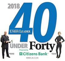 Dylan Cruess selected for 40 Under Forty Class of 2018