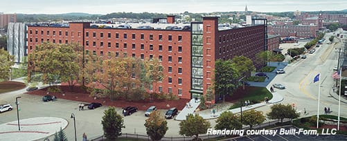 SNHU downtown Manchester Parking Garage