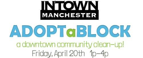 Adopt-a-Block 2018 downtown Manchester