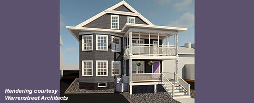 Warrenstreet Architects rendering for 2018 Building on Hope Project Crisis Center of Central NH