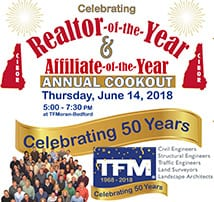 TFMoran Hosts 2018 NHCIBOR Realtor-of-the-Year Awards BBQ