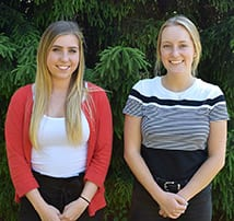 Madeline Preston and Cora McClean, TFMoran Summer Interns