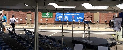 NBC Universal Groundbreaking in Needham, MA