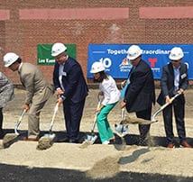 TFMoran attends Groundbreaking Ceremony for NBCUniversal Boston Media Center