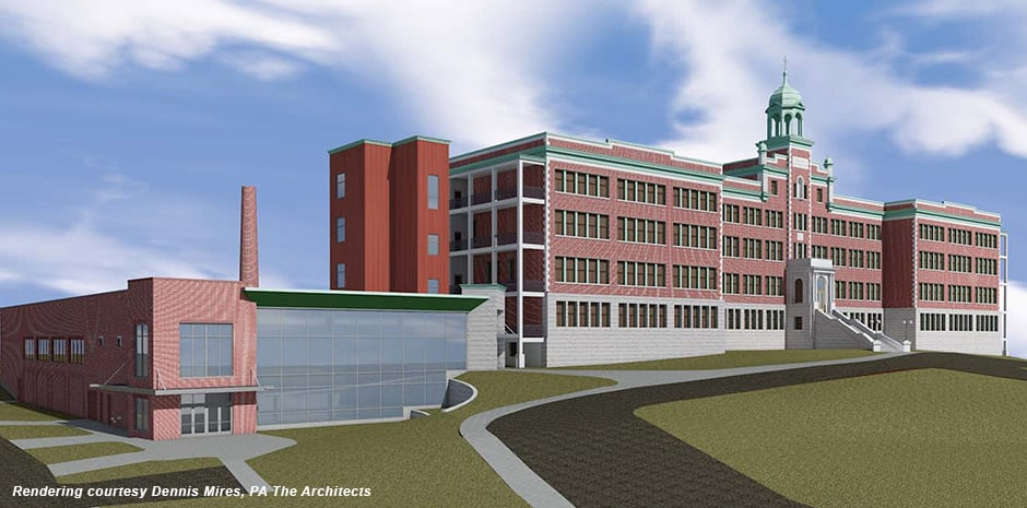 Presentation of Mary Thompson Center for Athletics and Performing Arts - Hudson, NH