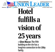 TFM Structural Engineering project featured in New Hampshire Union Leader