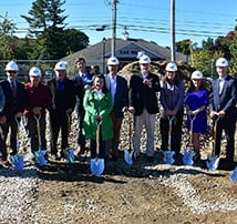 October ground breaking event held for Franklin Savings Bank in Goffstown, NH