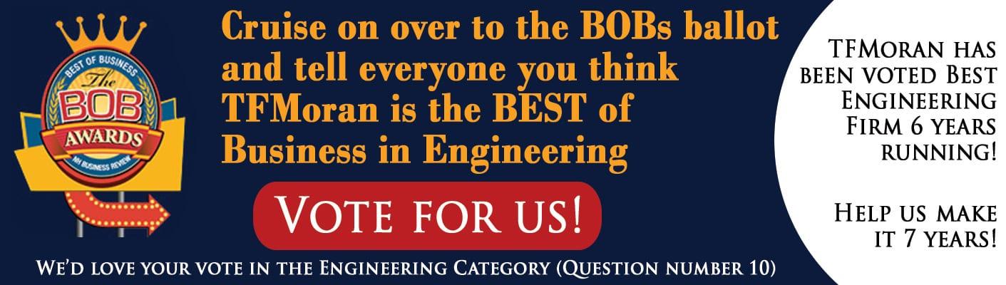 Vote for TFMoran 2019 BOB Awards