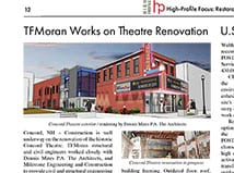 TFMoran's Work on Concord Theatre Project Recognized in High Profile