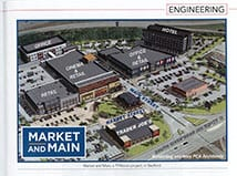 TFMoran's President, Robert Duval, and mixed-use development Market and Main, featured in Business NH Magazine