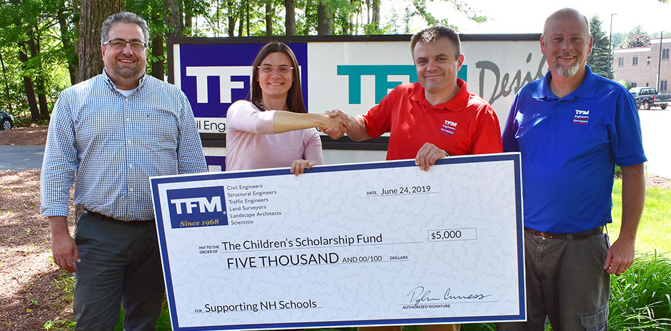 TFMoran donates to Children's Scholarship Fund