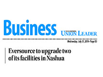 TFMoran's Eversource Project featured in the Union Leader