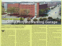 NH Business Review writes about TFMoran's project: SNHU Millyard Parking Garage