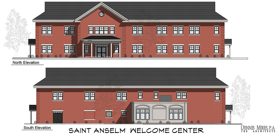 Saint Anselm College - Welcome Center