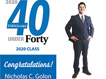 "TFMoran's Nick Golon in the New Hampshire Union Leader 2020 Class of ""40 Under Forty"""