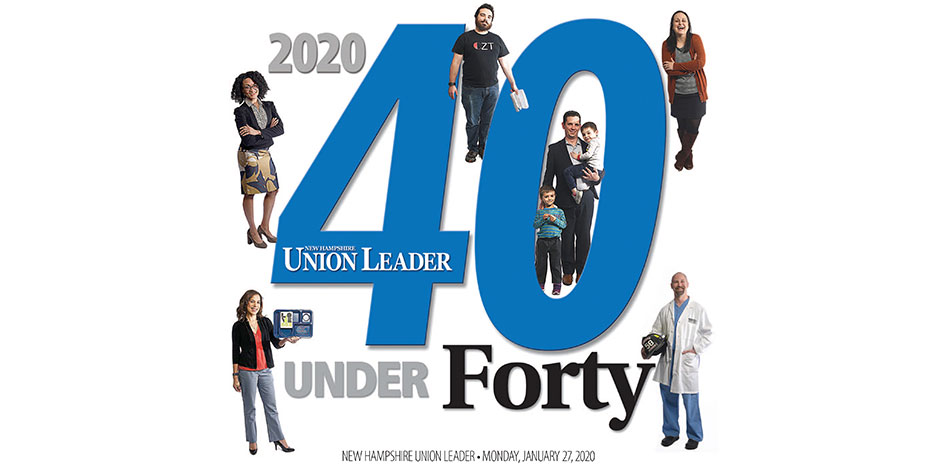 TFMoran's Nicholas Golon, PE - Union Leader 40 Under Forty Class of 2020