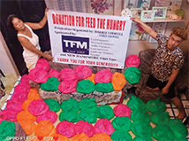 "A Big ""Thank You"" from the Philippines as TFMoran donates to ""Help the Hunger"""