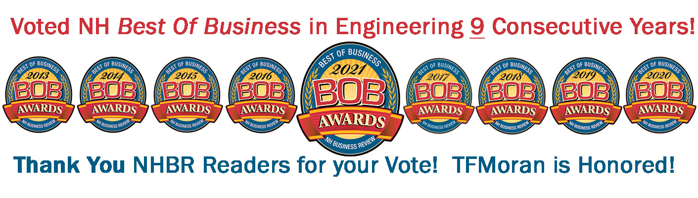 TFMoran Best NH Engineering Firm BOB Award 2021