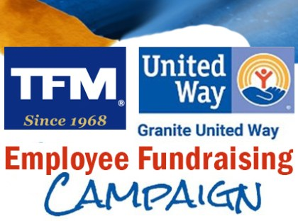 TFMoran Employee Fundraising Campaign Raises over $2,000 for Granite United Way