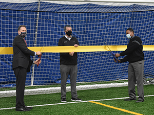 NH Union Leader Covers Ribbon-cutting Event at NH SportsDome in Hooksett