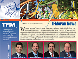 """The Scope"" TFMoran's Spring Newsletter has Sprung!"