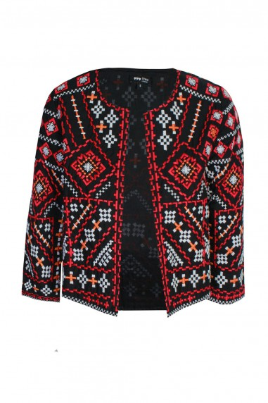 Lace & Beads Penna Black Jacket