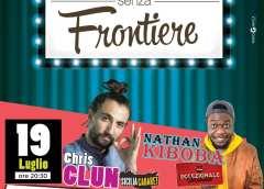 Stasera per Risate senza frontiere spettacolo cabaret con Chris Clun e Nathan Kiboba a Montedoro