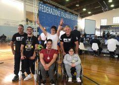 Campionati pesistica paralimpica, nisseni sugli scudi