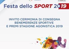 """CONI Caltanissetta, Festa dello sport 2019: venerdì 13 dicembre ore 18 al centro polivalente """"M. Abbate"""""""
