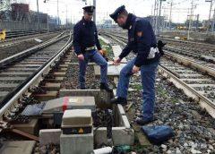Rubato rame dalla ferrovia, un arresto