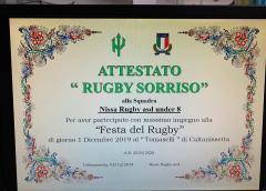 """Mini-rugby: gioioso successo per il raggruppamento al """"M. Tomaselli"""" Under 16 femminile a Catania, il capitano Cirneco: """"Andiamo nella giusta direzione"""""""