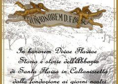 """Presentazione del libro """"In Honorem Divae Flaviae, Storia e storie dell'Abbazia di Santa Flavia in Caltanissetta dalla fondazione ai giorni nostri"""" del prof. Giovanni Carovello Grasta"""