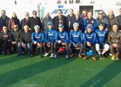 FCI Sicilia: il presidente FCI Renato Di Rocco e la nazionale pista ospiti a Noto