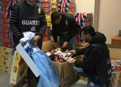Sequestrati prodotti contraffatti