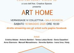 "Museo virtuale CO.VI.3D, quarta collettiva ""ArT HOME"" alle 18"