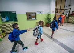 Suona la campana, primo giorno di scuola
