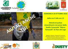 """Dusty, Legambiente e comitato di quartiere di San Luca per la giornata ecologica """"puliamo il mondo"""": dallo stadio """"Tomaselli"""" a via dei Giardini"""